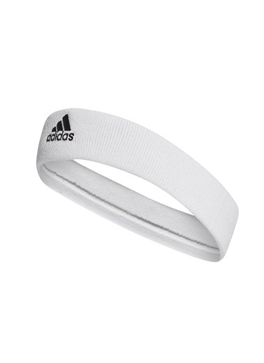 adidas Tennis Headband Erkek Saç Bandı Beyaz